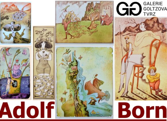 Adolf Born – Vyjímečný soubor grafických listů